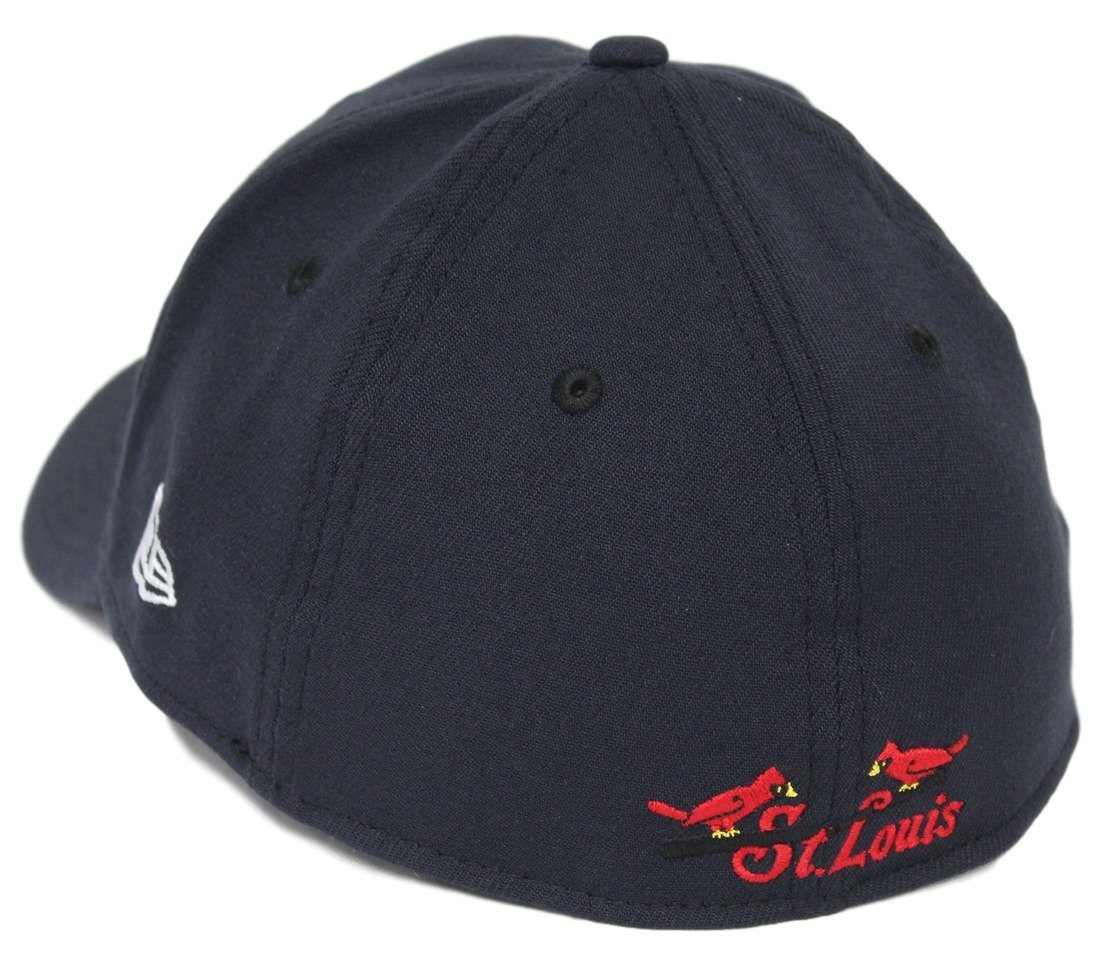 the best attitude 143ed a4bc6 Amazon.com   New Era St. Louis Cardinals MLB 39THIRTY Cooperstown Classic  Flex Fit Hat - Navy   Sports   Outdoors
