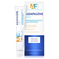 Acne Free Adapalene Gel 0.1%, Once-Daily Topical Retinoid Acne Treatment, 30 Day...