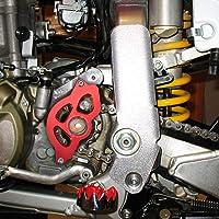 Color : Blue furong 2004-2013 Fit For Yamaha YFZ 450 YFZ450 ATV Quad CNC Billet Aluminum Case Saver Engine Guard Chain Cover Frame Slider Protection