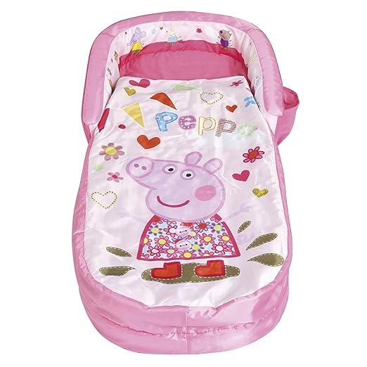 Peppa Pig ReadyBed – Cama Hinchable Saco de Dormir en una