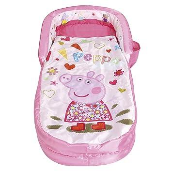 Readybed Peppa Pig - Mi Primera Cama Hinchable y Saco de Dormir ...