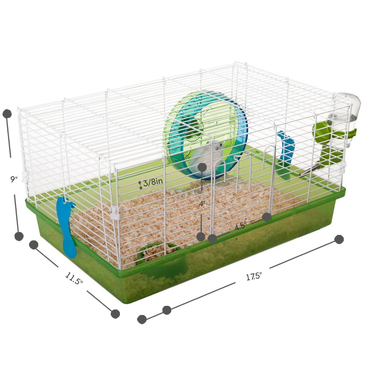 Favorite Small Animal Habitat Hamster Deluxe Pet Cage by Favorite (Image #6)