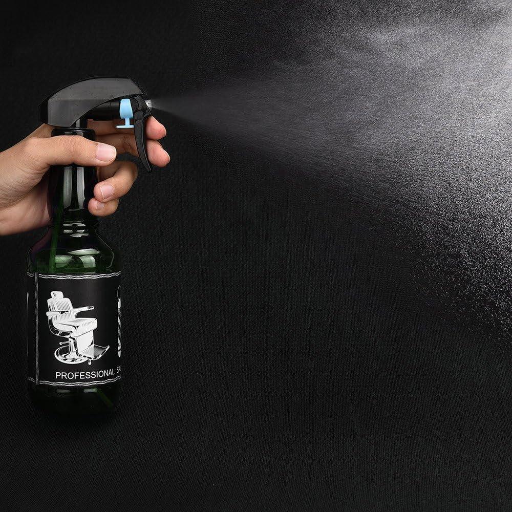 STRIR Botella de Spray 500ml Pulverizador de Rociar Agua para Peluquer/ía Sal/ón Peluquero Azul