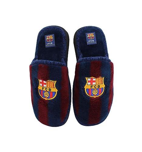 3f4e0348fda Andinas - Zapatillas de Estar en casa Oficial FC Barcelona: Amazon.es: Zapatos  y complementos