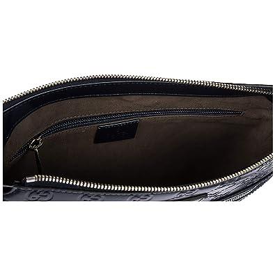 Gucci sac homme bandoulière en cuir signature blu  Amazon.fr ... 1c8c363d514