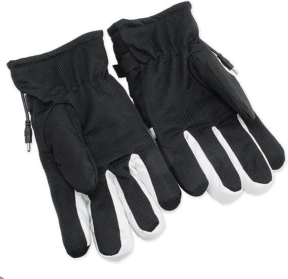 PsmGoods/® Motorbike Motorcycle Heated Gloves 12V Waterproof Antifreezing Blue