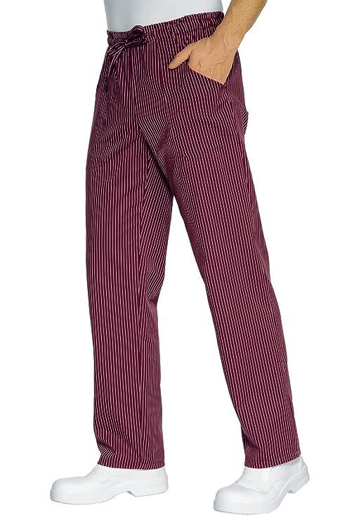 S Isacco Pantalone con elastico Skull 12 190 gr//m/² Skull 12 100/% Cotone