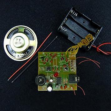 Kit de componentes para montaje de sintonizador de radio FM 9088