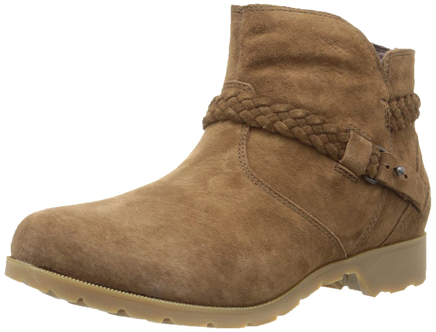 Teva Women's Delavina Suede Ankle Boot B00PS251MC 6 B(M) US|Bison
