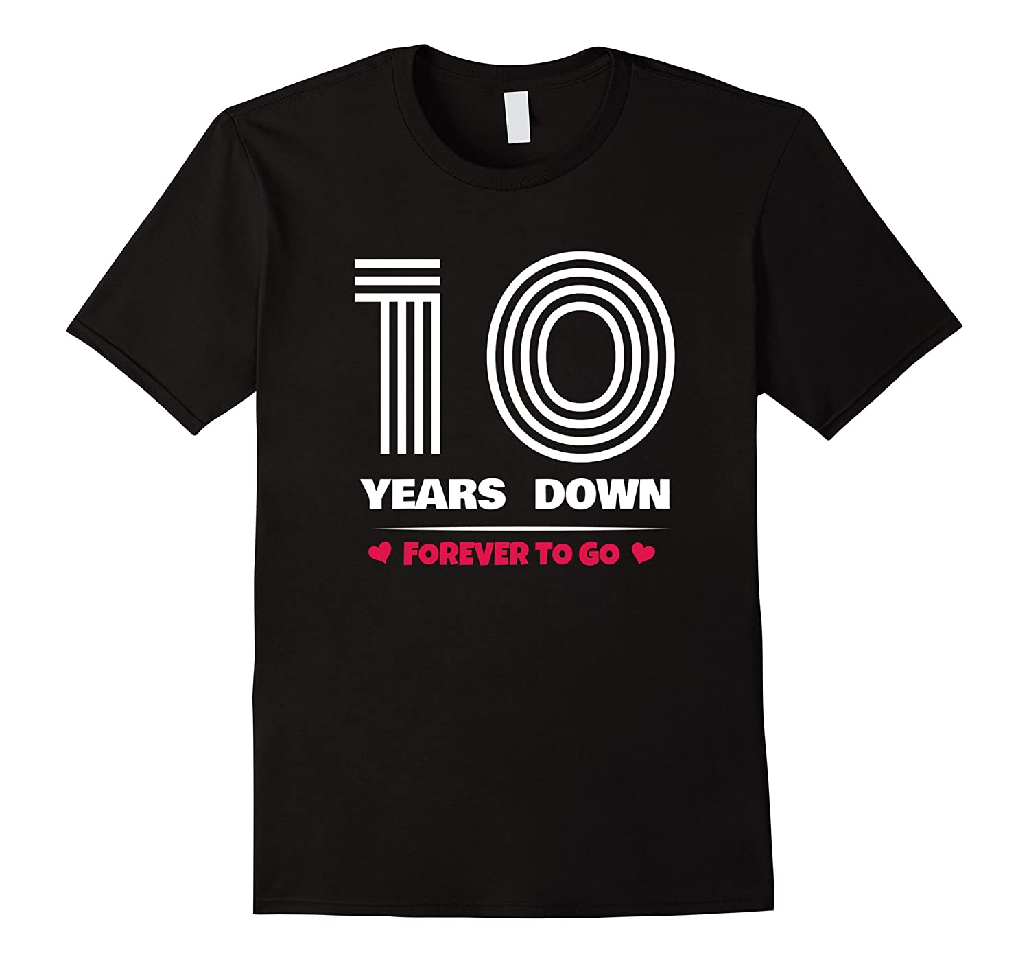 10th Wedding Anniversary T-Shirt Funny For Married In 2007 Y-ANZ