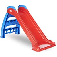 Little Tikes First Slide (Red/Blue) - Indoor / Outdoor Toddler Toy (Renewed)
