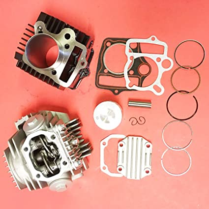 Amazon com: CYLINDER ENGINE REBUILD KIT CHINESE 110CC ROKETA