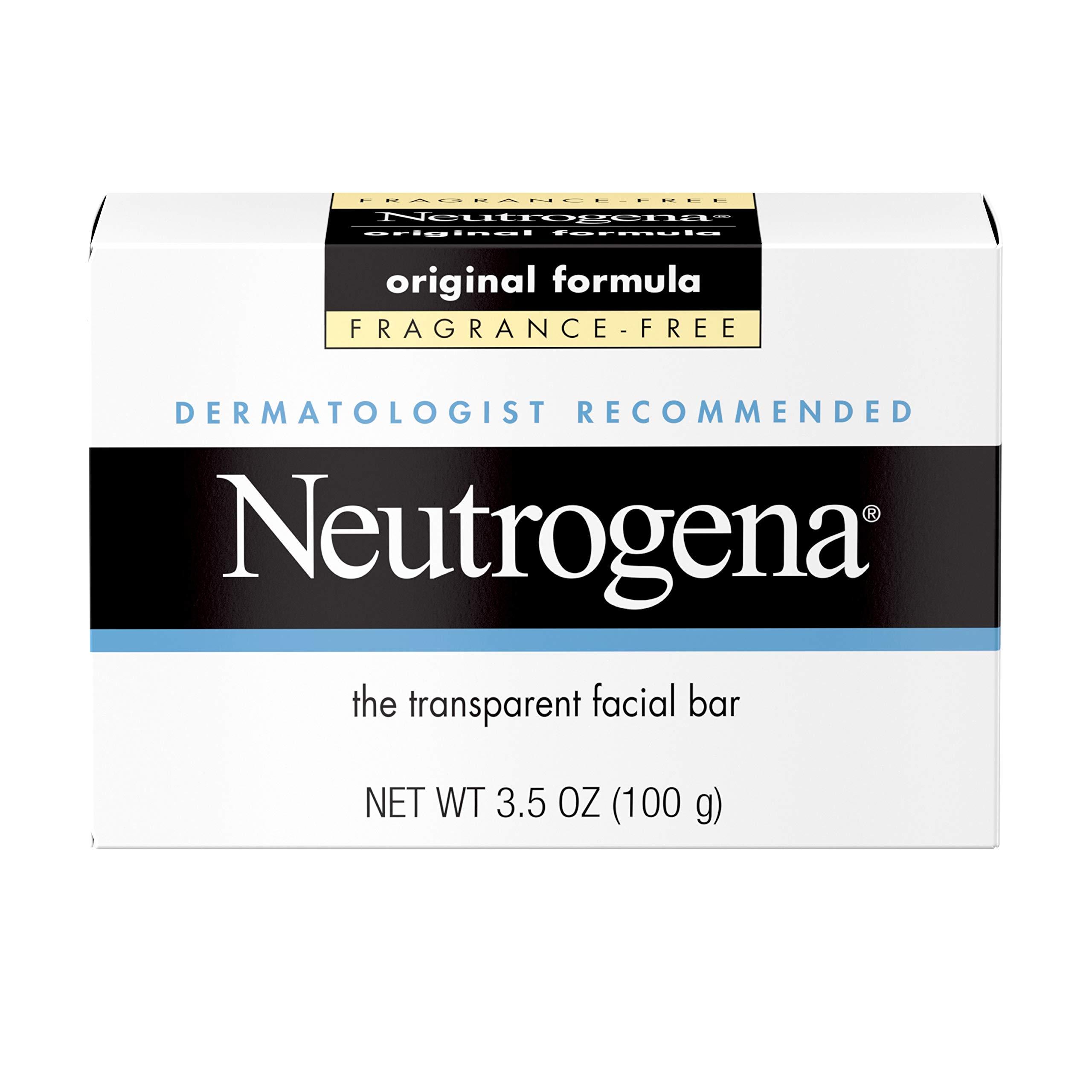 Neutrogena Original Fragrance-Free Facial Cleansing Bar