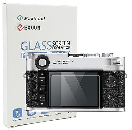 Maxhood (lote de 2) Leica M10 templado protector de pantalla de ...