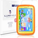 iLLumiShield - Samsung Galaxy Tab 3 Kids Screen Protector Japanese Ultra Clear HD Film with Anti-Bubble and Anti-Fingerprint – High Quality (Invisible) LCD Shield – Lifetime Replacement Warranty – [3-Pack] OEM / Retail Packaging