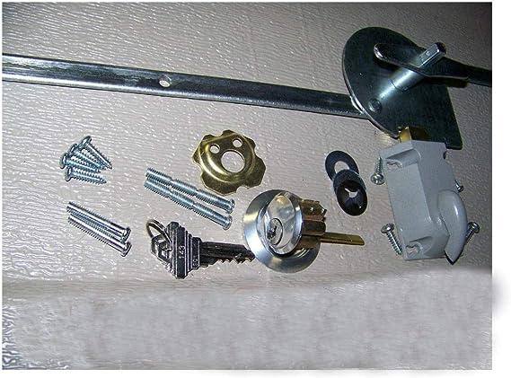Juego de cerradura para puerta de garaje, 1 muelle de extensión para puerta de coche: Amazon.es: Bricolaje y herramientas