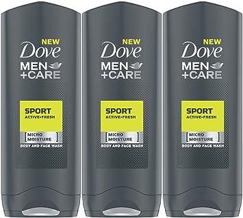 Amazon Com Dove Men Care Sport Active Fresh Body Wash 13 5 Ounce 400 Ml Pack Of 3 International Version Beauty