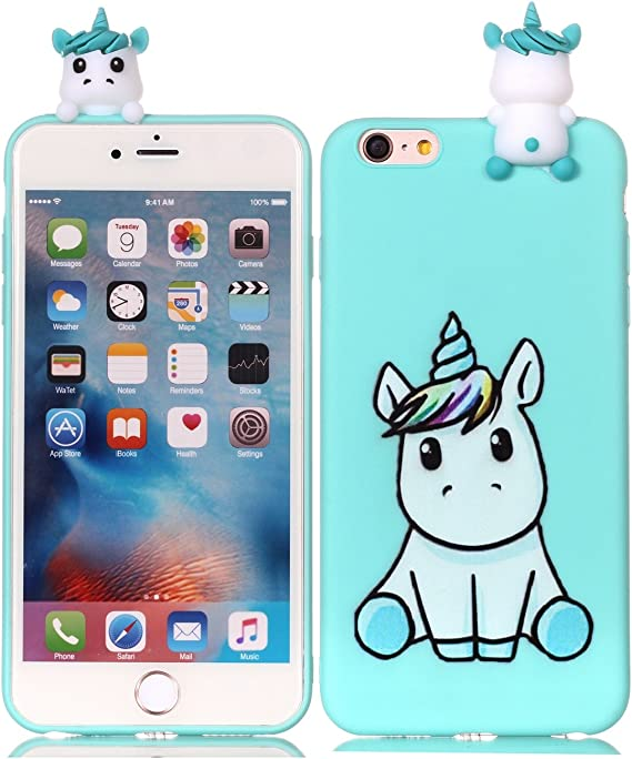 Cute Cartoon Unicorn Case For Iphone 6s