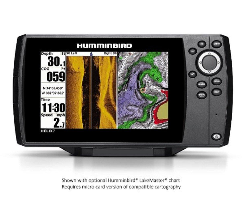 Humminbird Helix 7 Chirp SI/GPS G2 Combo fish finder