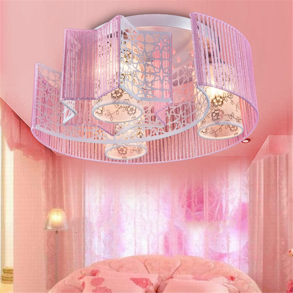 Leihongthebox Ceiling Lights lamp Star Moon light ceiling light children's room for boys and girls and the princess 600200mm,600200mm