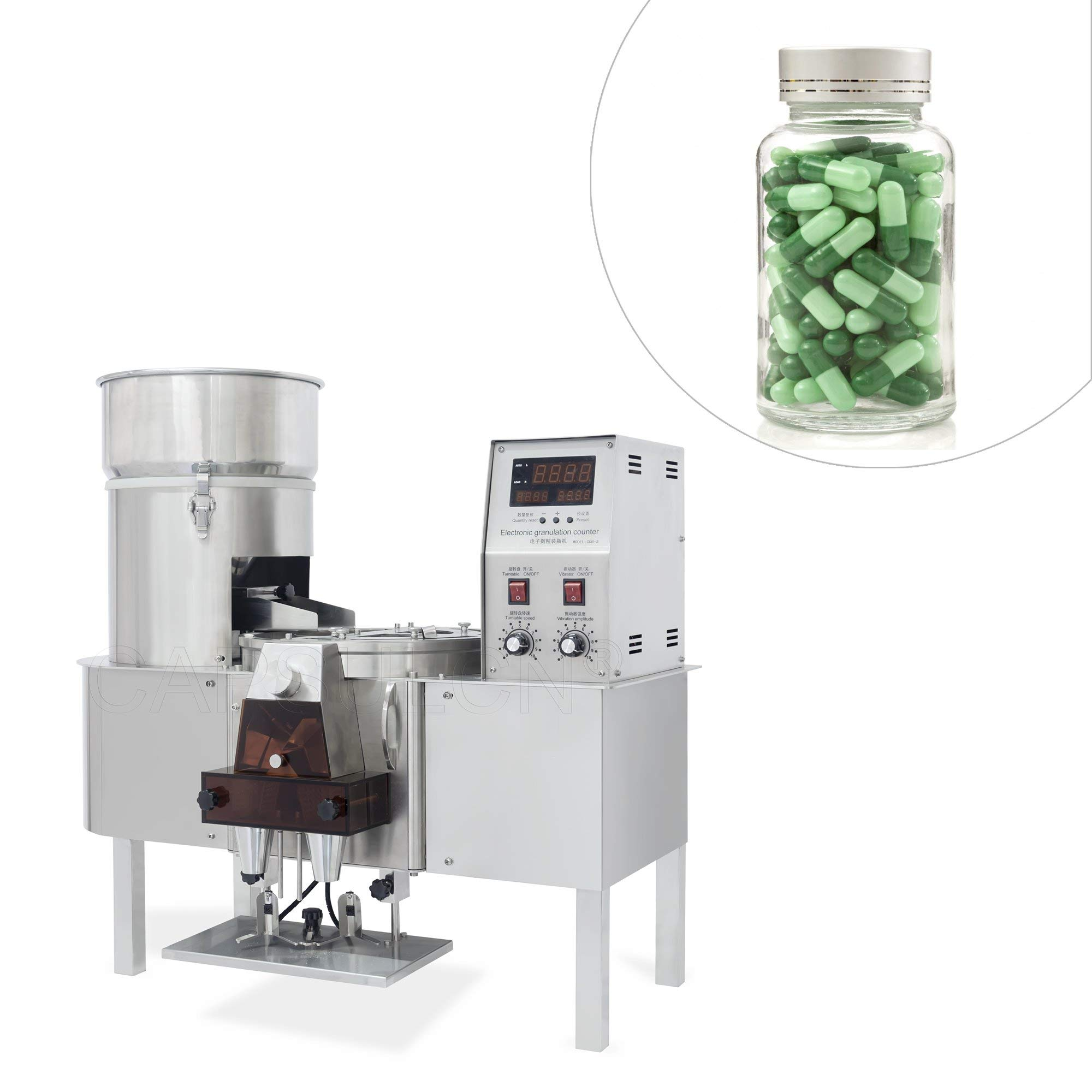110V/60Hz CDR-3A Automatic Capsule/Tablet Counting Machine Capsule Counter