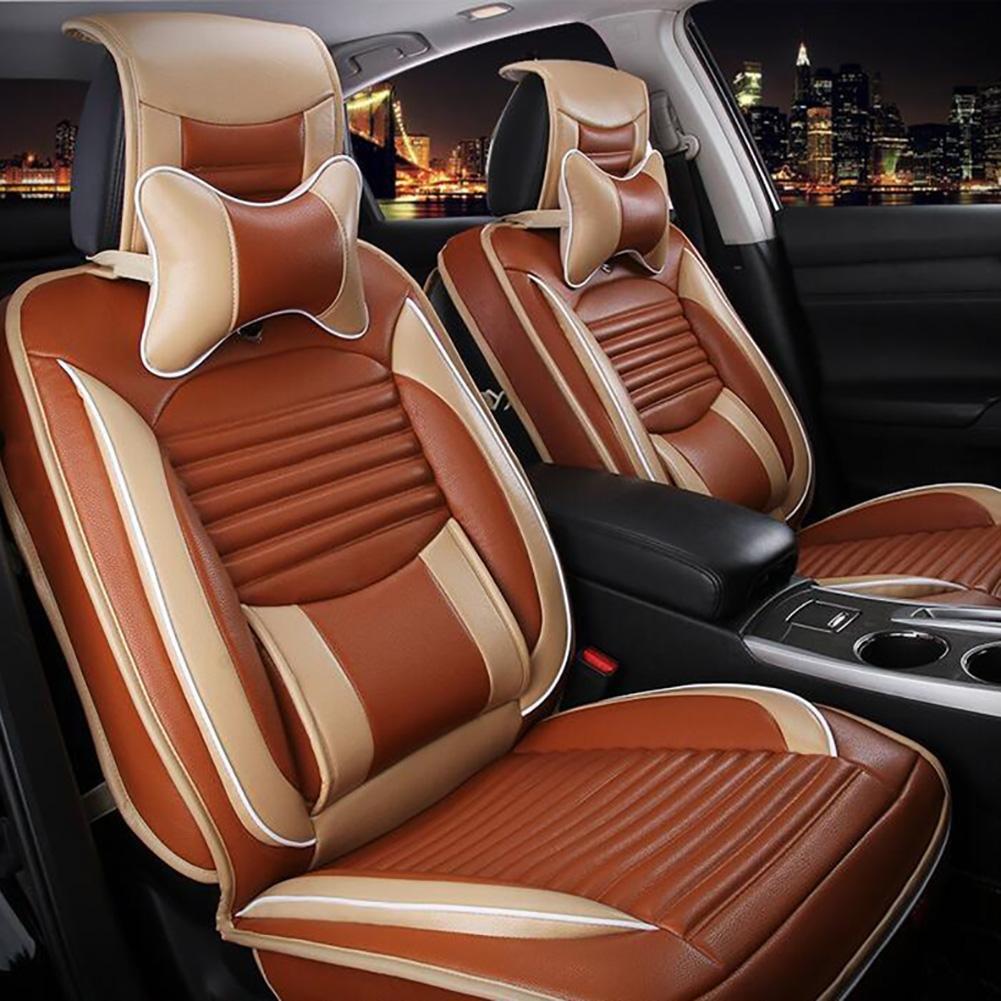 Auto Accessories The 5 Seat Car Seat Cover, orange