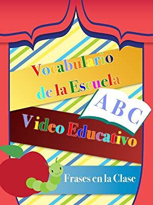 Vocabulario de la Escuela Video Educativo Frases en la Clase