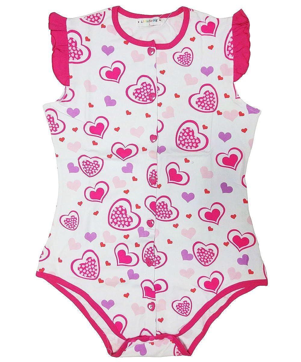 Amazon.com: Littleforbig Pijama de entrepierna con botones ...