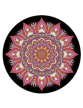 Antideslizante Yoga Mat --- Ronda De Caucho Natural De ...