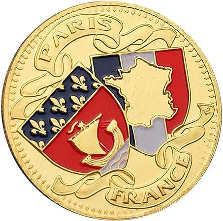 Fudeza 2019 Nuevo Conmemorativas Moneda Colección Paris Torre de ...