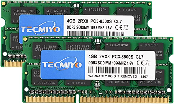 SD card reader Samsung 8GB DDR3 PC3-8500 1066Mhz 204PIN SODIMM Laptop /& tool