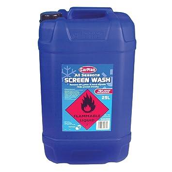 Líquido limpiaparabrisas para todas las estaciones (25 litros), de ...
