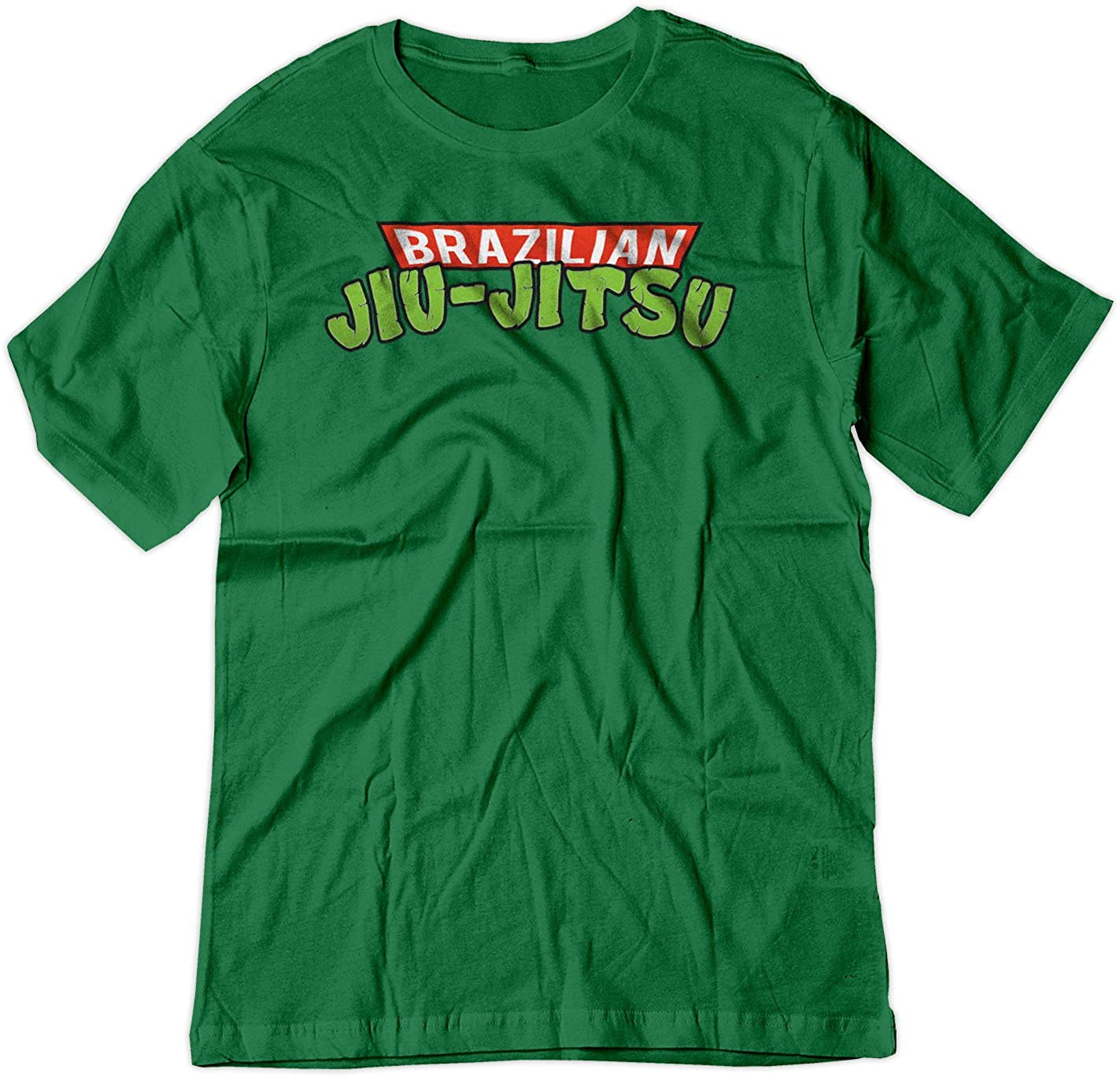 BSW YOUTH Brazilian Jiu-Jitsu Teenage Mutant Ninja Turtles Shirt 5169-1Y