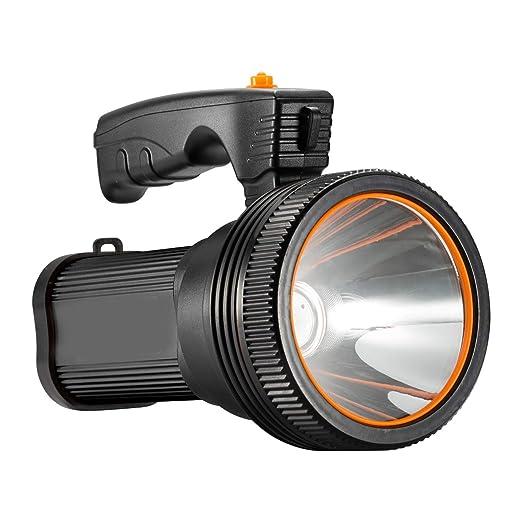 LJFG Reflector Recargable Portátil Linterna LED Linterna táctica ...