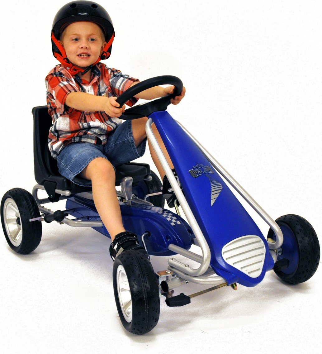 Kiddi-o by Kettler Pole Position Racer Pedal Car/Go Kart, Youth Ages 4 to 7 by KETTLER (Image #2)