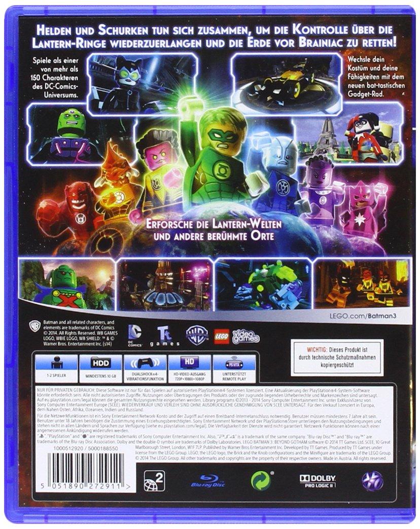 Jenseits von Gotham Season Pass LEGO Batman 3 PS4 PSN Code für