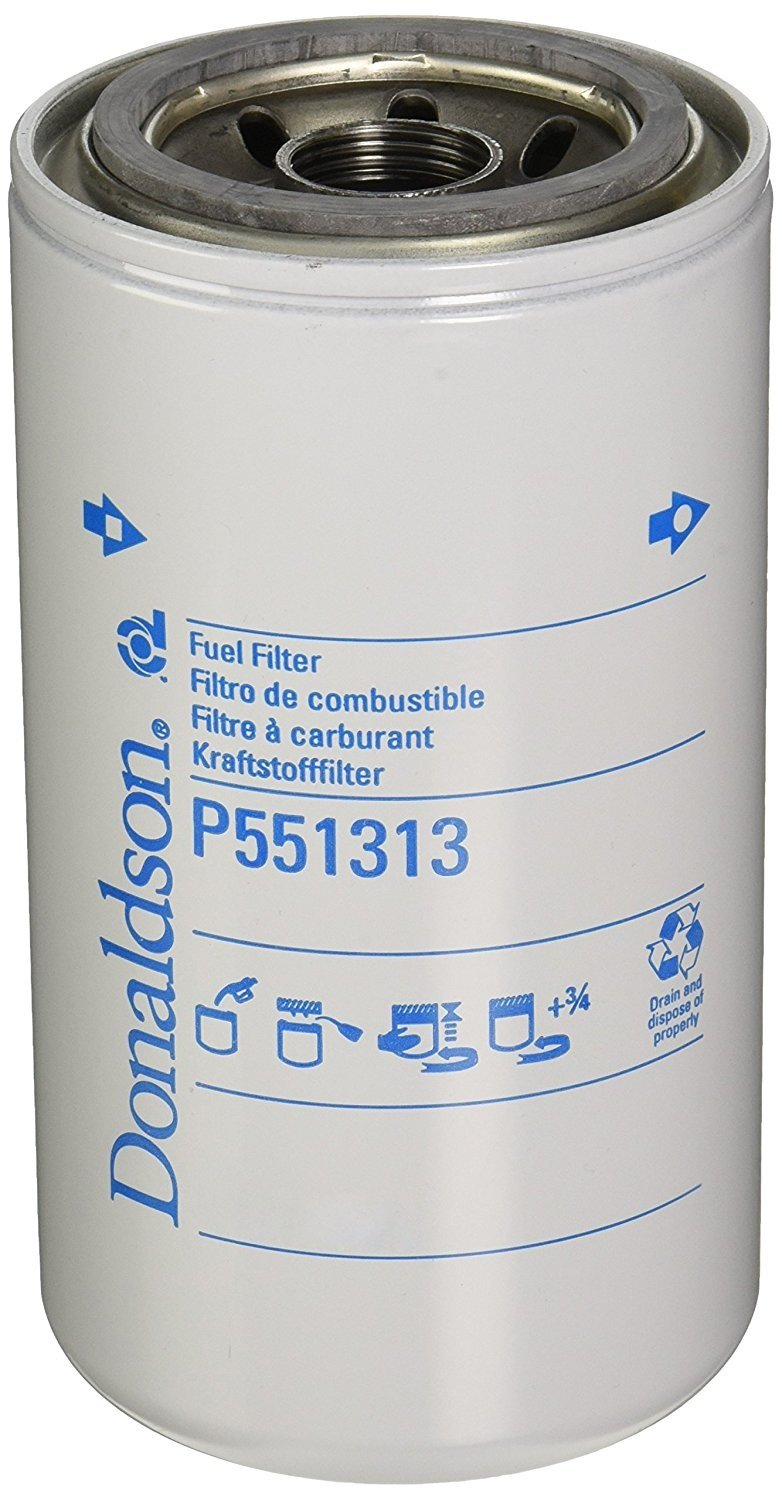 Donaldson P551313 Fuel Filter, Spin-on, Secondary (Pack of 12)