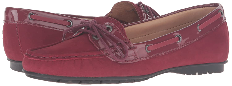 Sebago Schuhe Frauen Flache Schuhe Sebago Rot df6832
