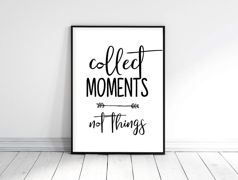 Amazon.com: 456Yedda Collect Moments Not Things Nursery ...