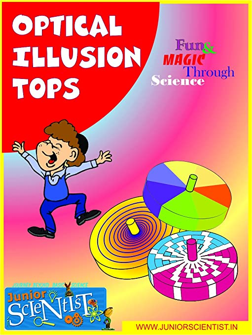 Buy SPINNING TOP OPTICAL ILLUSION TOYS BIRTHDAY RETURN GIFT Online At Low Prices In India