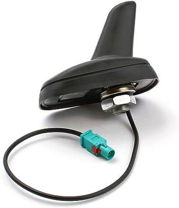 Antena de coche de estilo aleta de tiburón, con conector Fakra para Skoda Octavia, Superb y Yeti, y Volkswagen Golf Plus, Golf V, Golf V Variant, New ...