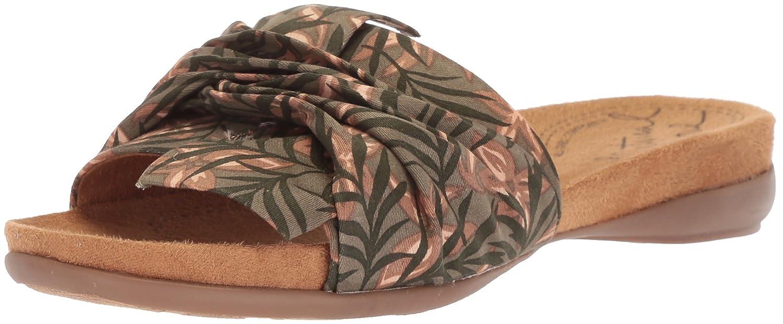NATURAL SOUL Women's Adalia Slide Sandal B078FBYJH6 9.5 B(M) US|Khaki