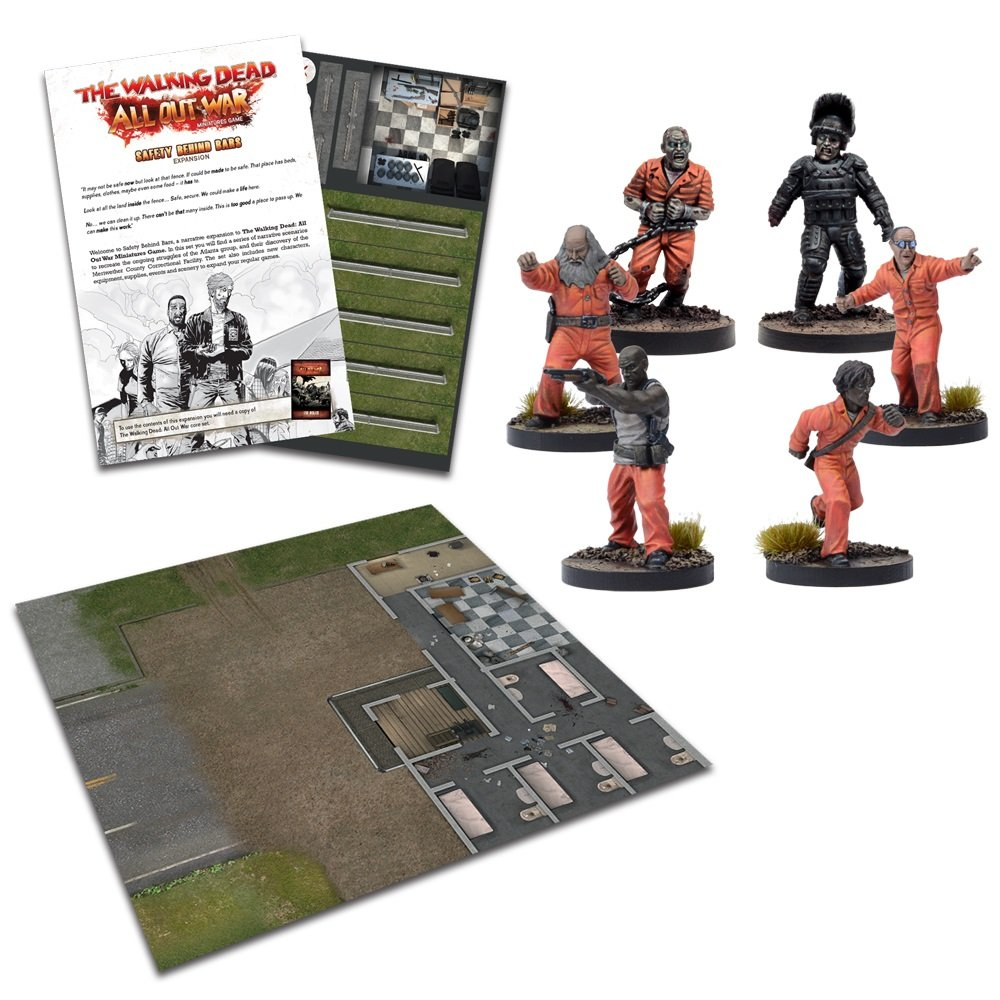 The Walking Dead: All Out War - Safety Behind Bars Expansion Wave III by Walking Dead - All Out War