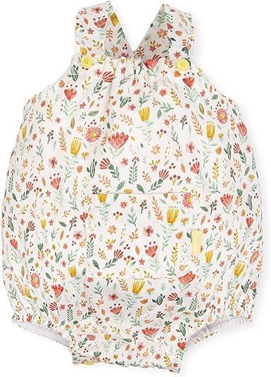 Tutto Piccolo 6725S19 Ropa para Bebé Niño o Niña Ranita Mono Peto Tricot de Algodón (Tallas de 1 a 24 Meses), Estampado de Flores: Amazon.es: Ropa y accesorios