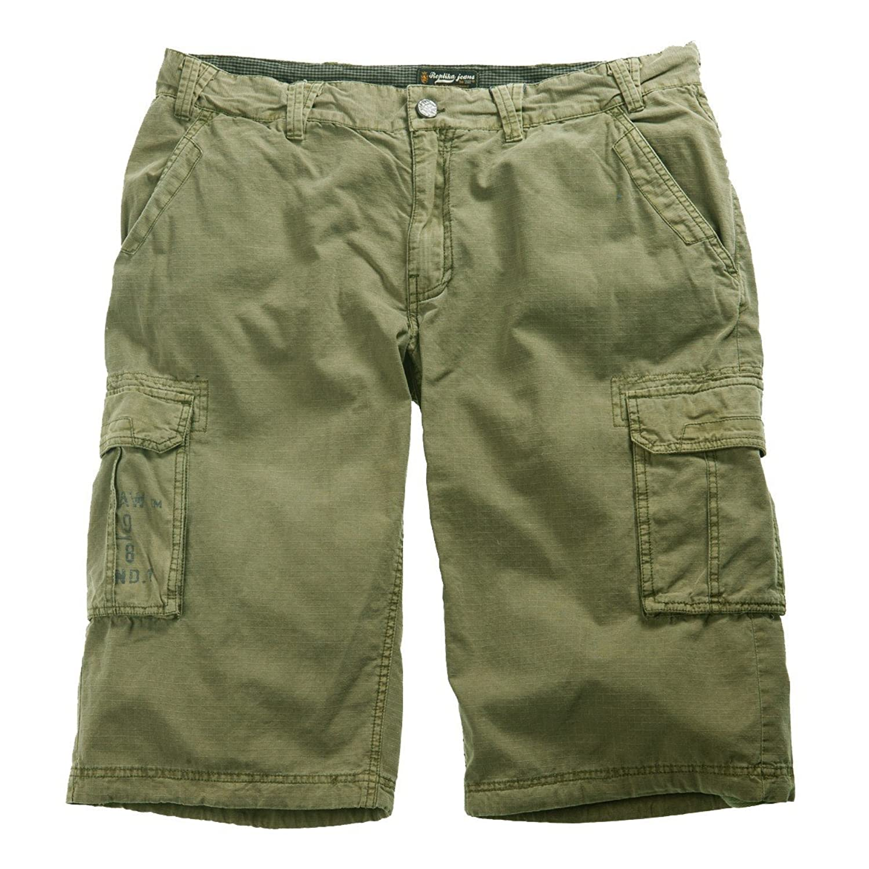 Oversize Cargo Capri Pants olive replica by Allsize