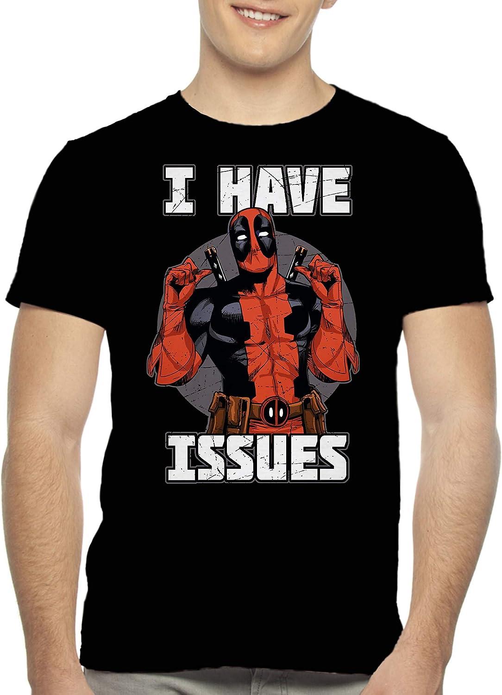 Deadpool I Have Issues Marvel Comics Licensed Adult T Shirt