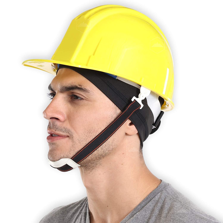 068a8839d12 Amazon.com   Tough Headwear Sweat-Wicking Helmet Liner Cooling Skull Cap  for Men   Women - Absorbent   Evaporative Under Hard Hat Cushion - UPF 45  Sun ...