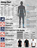 HUGE SPORTS Men's Splice UV Sun Protection UPF