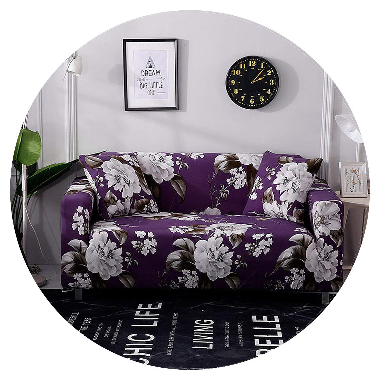 Amazon.com: Elastic Stretch Universal Sofa Cover for Living ...