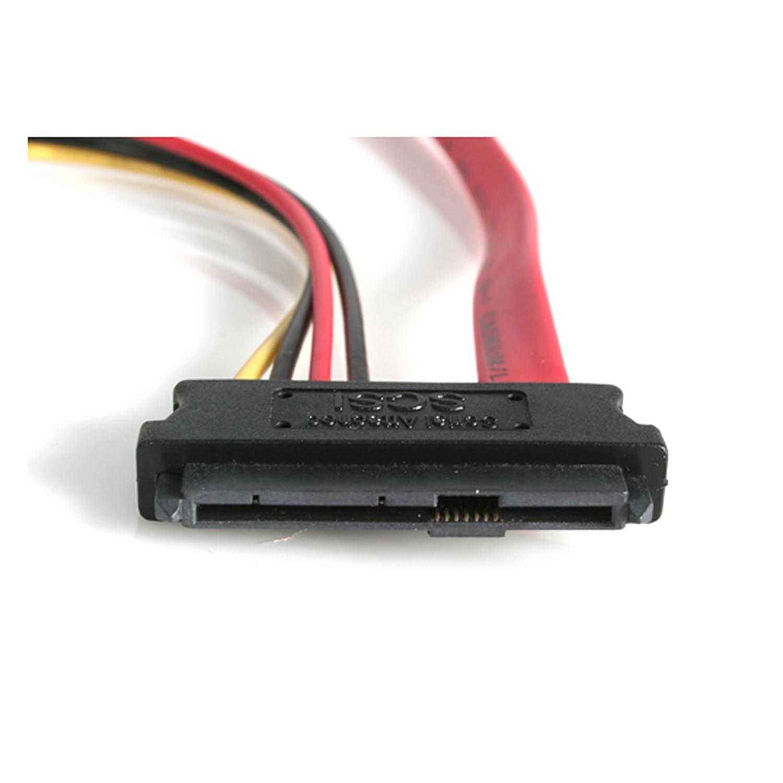 1x SATA, 1x Macho LP4, 1x SAS, SFF8482 Startech SAS729PW18 Cable Divisor SAS de 29-Pin SFF-8482 a Molex y SATA